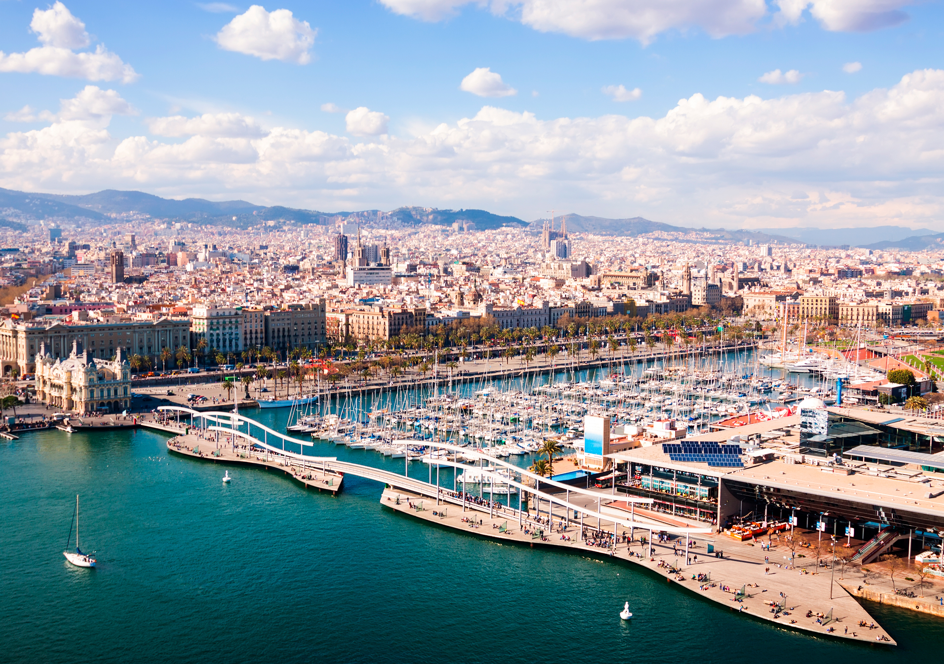 Opportunity for real estate crowdfunding in Port Vell, Barcelona